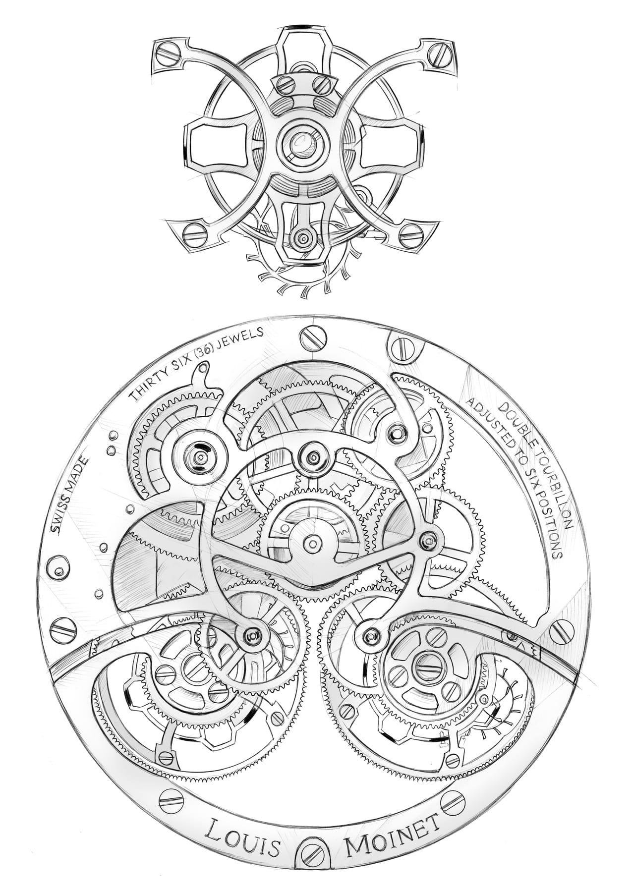 Louis Moinet's Sideralis