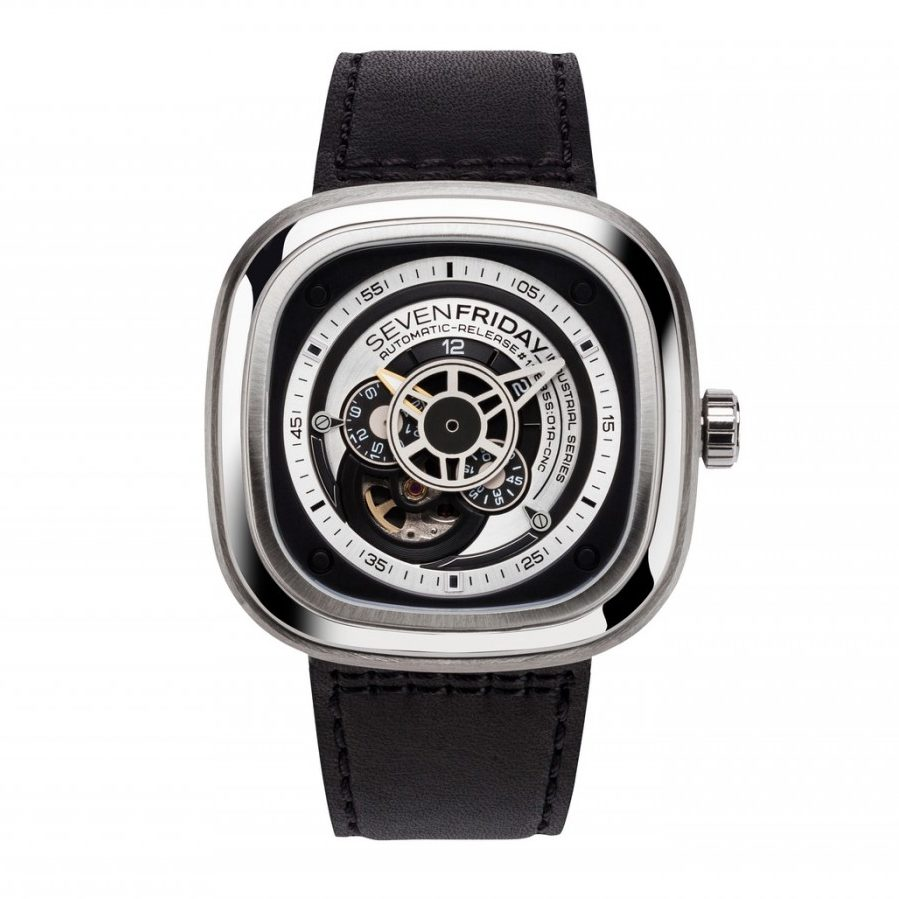 SevenFriday P1B-01 Stainess Steel Watch