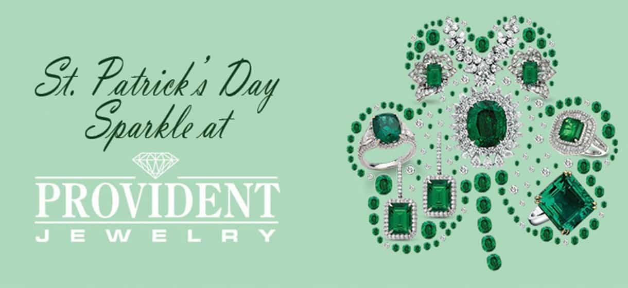 St Patrick's Day Green Jewelry emerald peridot sapphire jade