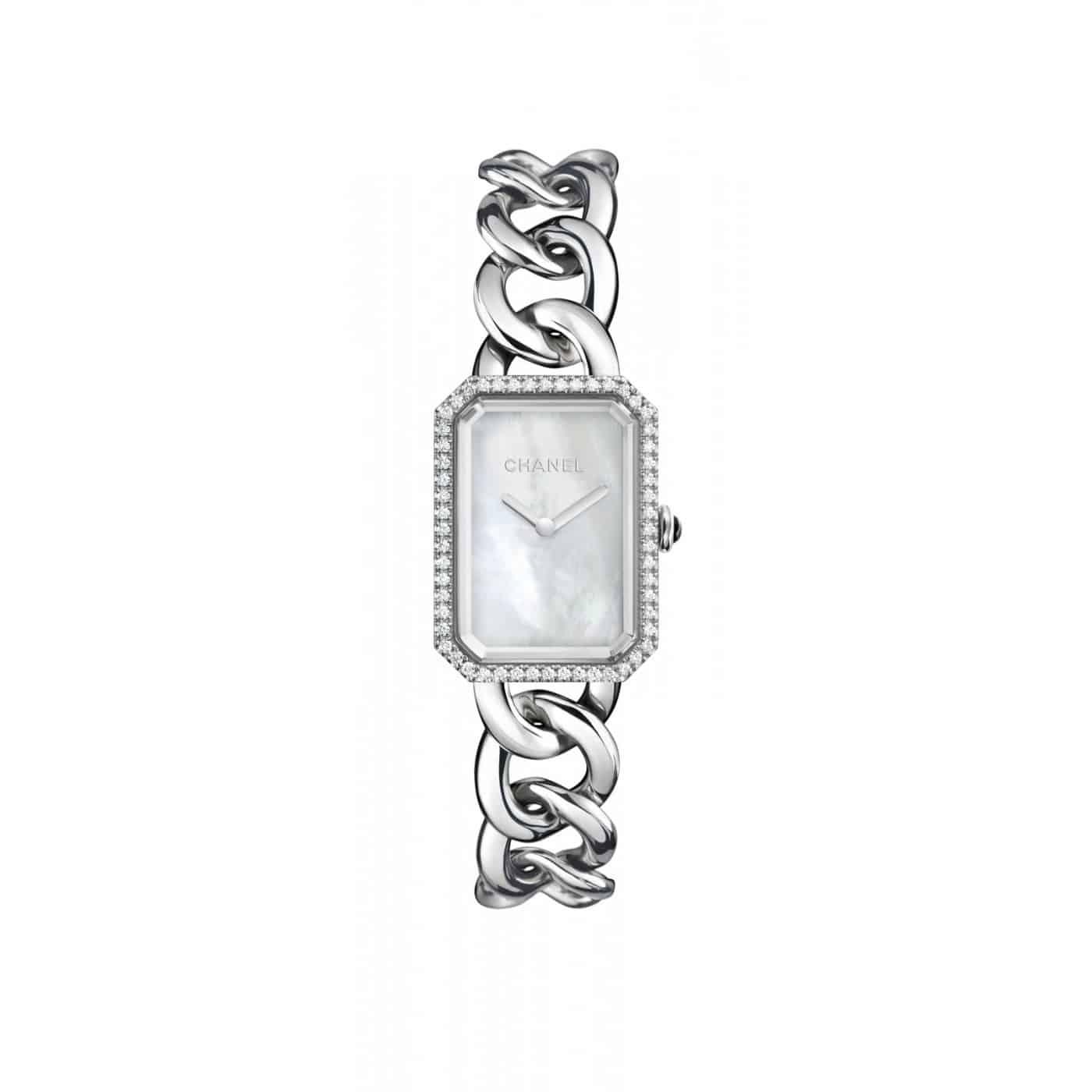 Chanel Chain Diamond Watch