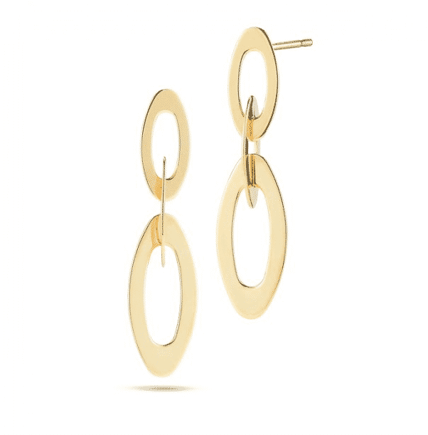 Chic and Shine Small Link Earrings