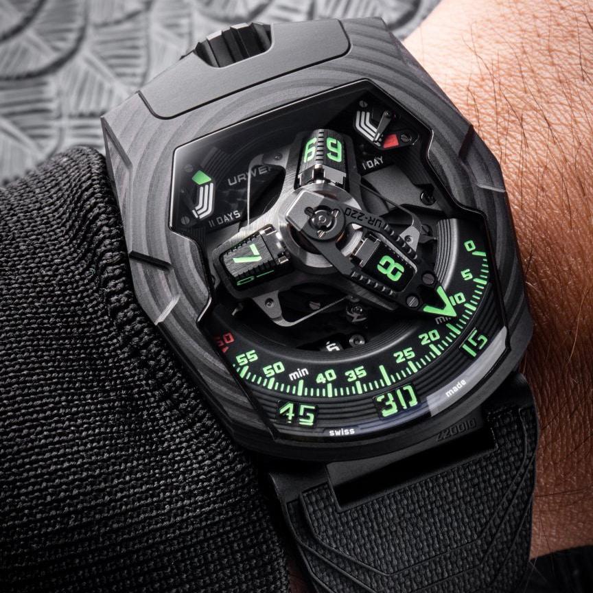 Urwerk Watch Front