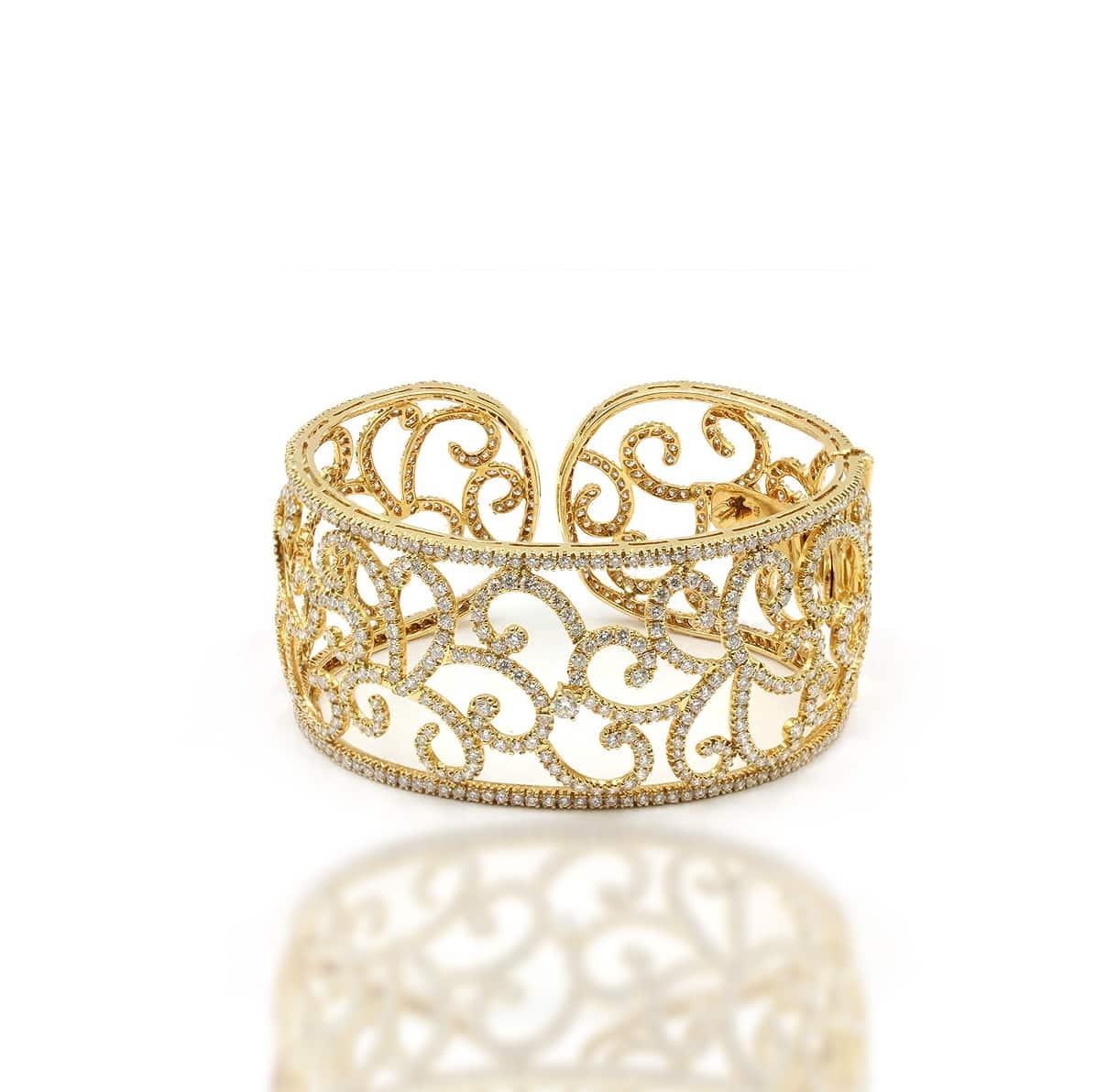 Estate Gold Cuff Bracelet